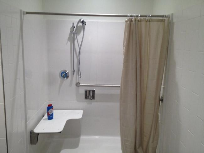 Internap Inline Shower