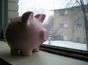 Sad Piggy Bank