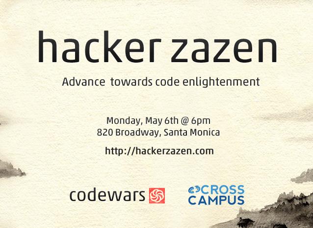 Hacker Zazen Flyer