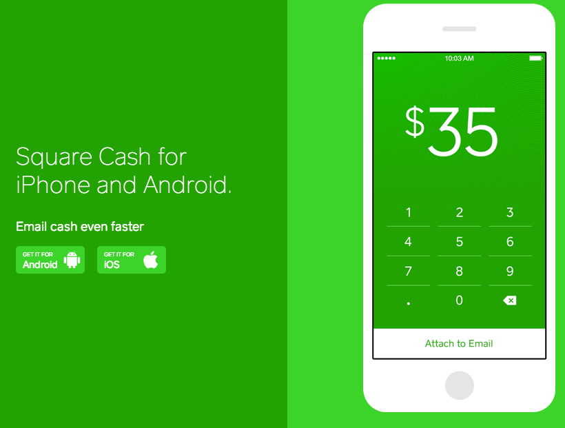 Square Cash Enables You To Send Money By Email For Free