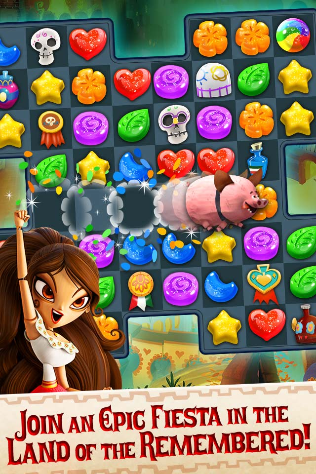 SGN Presents Mobile's Newest Game - The Book of Life: Sugar ...