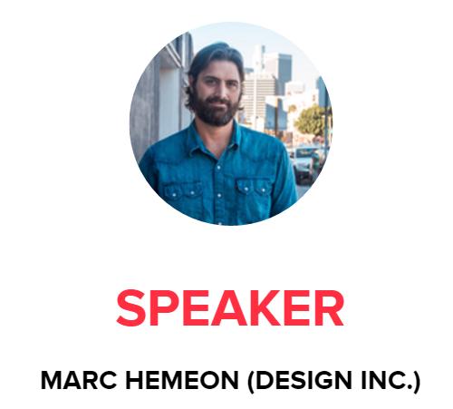Startup Grind Marc Hemeon Designer
